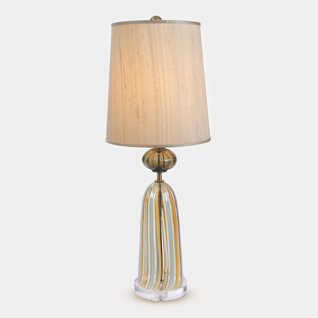 Bell jar table lamp tracy glover studio official website for Glass jar floor lamp