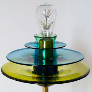 TracyGlover-Handblown-glass-Flower-Pendant