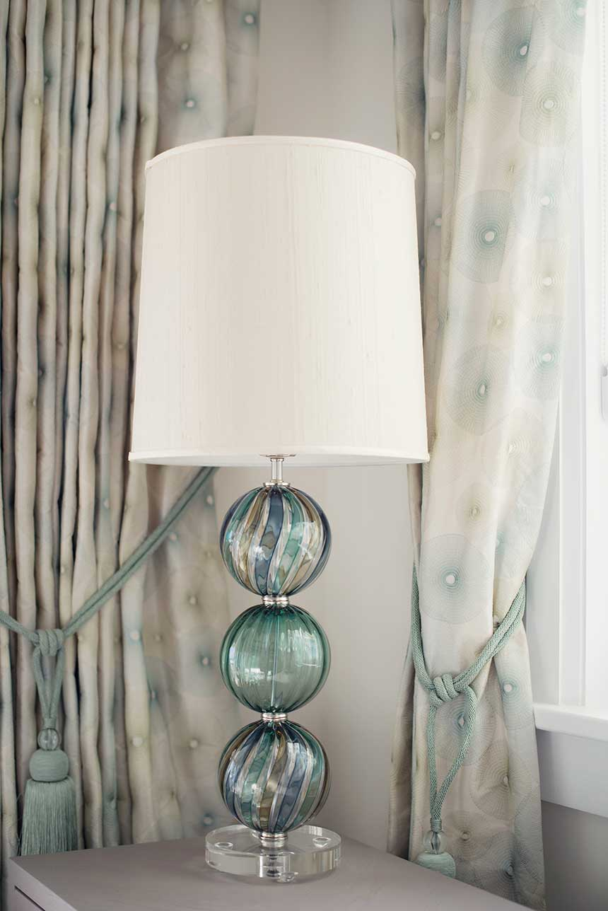 Striped Bocce Table Lamp Tracy Glover Studio Official