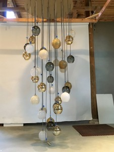 TracyGlover-CustomChandelier-assembly